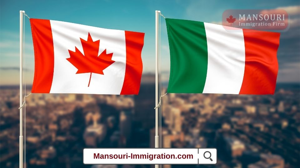 Canada is the fifth-largest destination for Italian immigrants